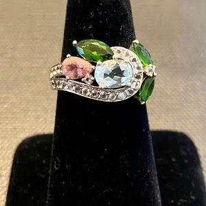 Victoria Wieck multicolored gen ring